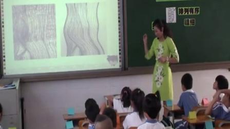 《給樹爺爺畫像》教學課例-嶺南版美術二年級,紅桂小學:楊錕