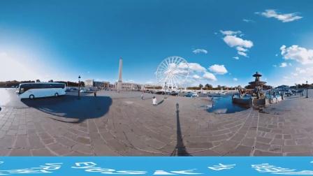 法国卢浮宫埃菲尔铁塔【完美幻境Eyeisr全景相机】