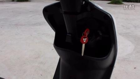 原装二手进口雅马哈evo2老鼠怪电喷踏板摩托车50cc四冲程女装燃油