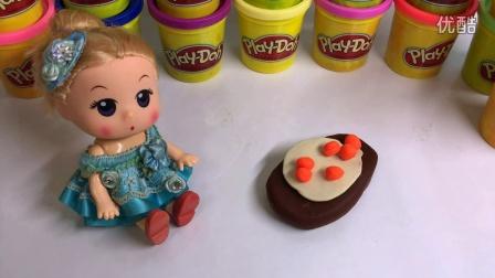 小猪佩奇和朋友七彩雪糕 粉红猪小妹趣味识颜色