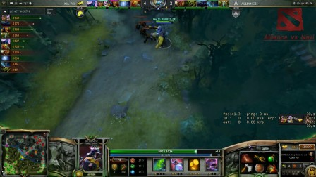 {TI3总决赛}Alliance  vs  Navi