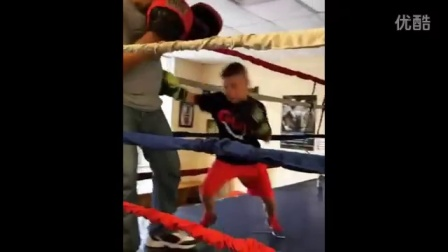 8-12岁儿童拳击训练