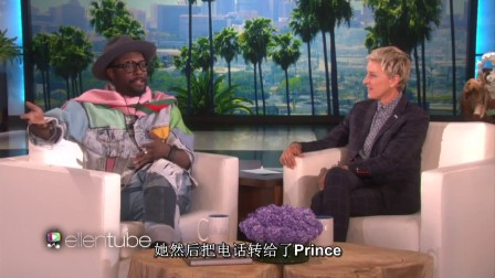 will.i.am回忆他带MJ去看PRINCE演出