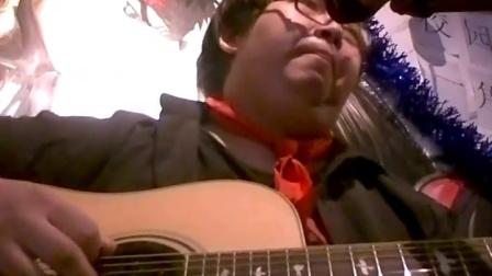 吉他弹唱小胖致敬黑豹乐队《dont break my heart》