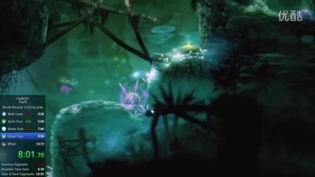 Ikewolf-【RTA】【Ori DE】奥日与迷失森林 决定版 全程邪道最速 12m03s