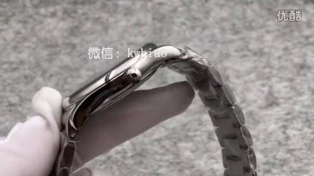 视频:外观展示,JF厂浪琴名匠双历,白壳钢带,瑞士2836机芯