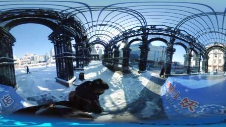 360°全景体验东方小巴黎哈尔滨的冬季