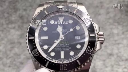 视频:外观展示,N厂V7渐变鬼王,2836机芯