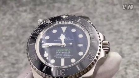 视频:外观展示,N厂V7版劳力士渐变鬼王,2836机芯