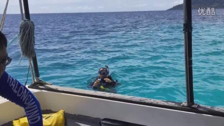 仙本那潜水之旅