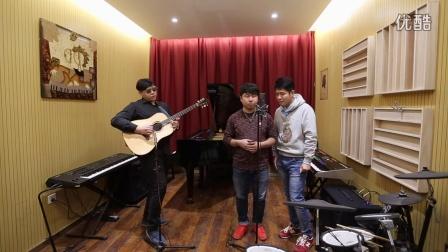 【郝浩涵吉他教学】【武凯工作室】吉他弹唱 不值得(张强、官群)