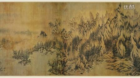 古代字画-十大传世名画之江参千里江山图》