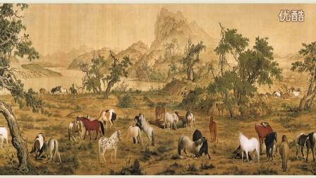 古代字画-中国十大传世名画-百骏图
