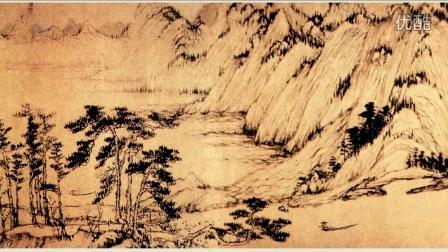 古代字画-中国十大传世名画-富春山居图