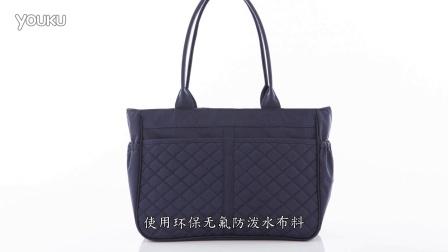 【环保再生纺织品】慈爱蓝环保惜福肩背包