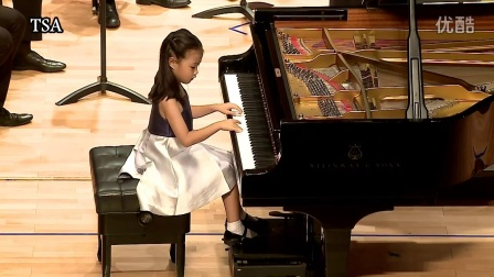TSA台湾铃木协会/海登C大调钢琴协奏曲/ 毕君涵( 5岁 )