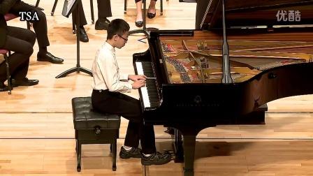 TSA台湾铃木协会/贝多芬  降E大调第5号钢琴协奏曲/林咏盛(12岁)