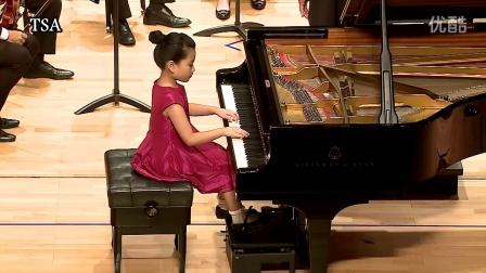 TSA台湾铃木协会/海登D大调钢琴协奏曲/蓝婕予( 7岁)
