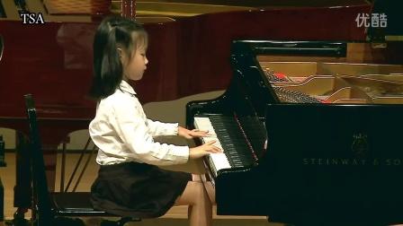 TSA台湾铃木协会/小步舞曲/毕君涵 5 岁