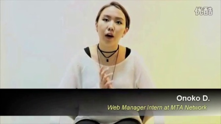 Internship Testimonial Video by Onoko (English Version) | MTA Network