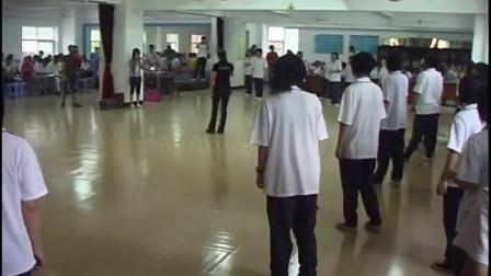 高中体育《有氧搏击操》教学视频,福建省名师教研研讨课视频