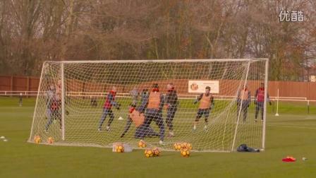 【SAFC走进社区】桑德兰在赫顿镇埃普尔顿球场的公开训练