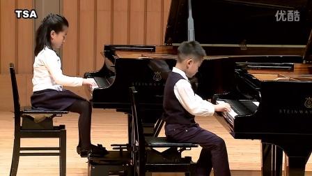 台湾铃木协会/小奏鸣曲Op.36 No.1  克莱曼悌 /蓝  绍齐 6岁/蓝   婕予 8岁