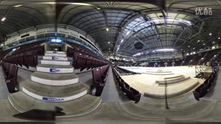 3D视角:将冰球场改建为泳池(2016FINA温莎世界游泳锦标赛)