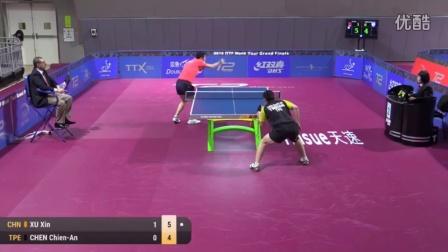 2016国际乒联总决赛 男单第一轮 许昕 vs 陈建安