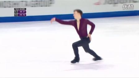 花滑少年大奖赛——男单冠军——Dmitri ALIEV RUS——短节目
