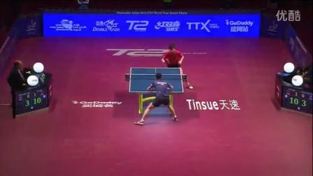 2106国际乒联总决赛 男单1/4决赛 马龙vs黄镇廷
