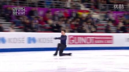 花滑少年大奖赛——男单冠军——Dmitri ALIEV RUS——自由滑