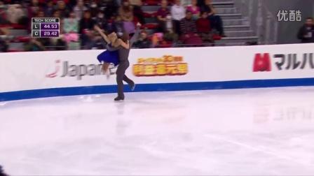花滑少年大奖赛——冰舞冠军——Rachel PARSONS - Michael PARSONS USA——自由舞