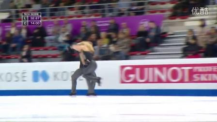 花滑少年大奖赛——冰舞冠军——Rachel PARSONS - Michael PARSONS USA——短舞