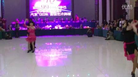 北京飞舞爵士和芳草老师在圆强艺术节上表演吉特巴(跳舞网录制)