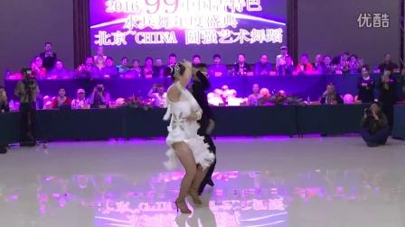 大连姜黄组合在圆强艺术节上表演吉特巴(跳舞网录制)