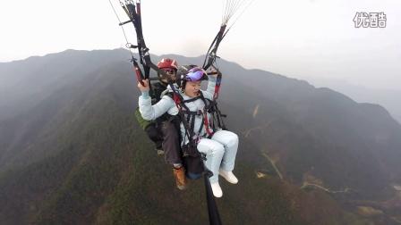 2016-12-18 芳褒忠山滑翔伞体验