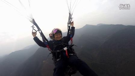 2016-12-18 袁卫褒忠山滑翔伞体验