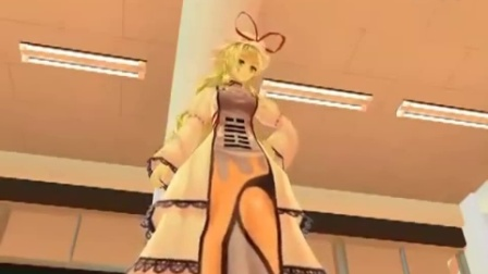 MMD Touhou Girl Punishment and Panty Shot - YouTub