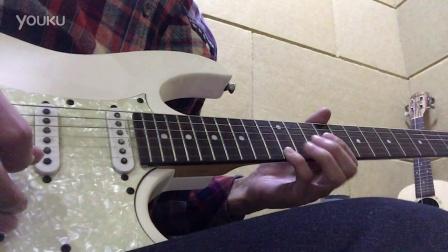 五月天《知足》间奏 电吉他solo