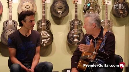 采访 Tommy Emmanuel 使用吉他配件装备介绍 32分钟讲到Dawg拨片