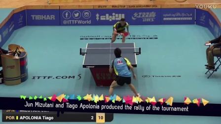 6分钟,带您回顾2016国际乒坛的所有感动!