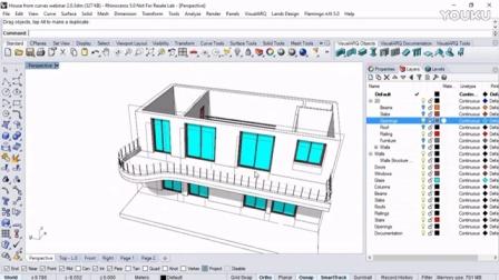 VisualARQ 2 0, FlexibleBIM for Rhino