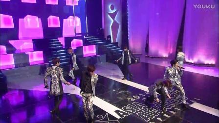 和AsiaModelAwards一起的K-pop明星 INFINITE 'Destiny'
