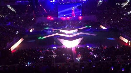 马来西亚歌手李佩玲万人现场