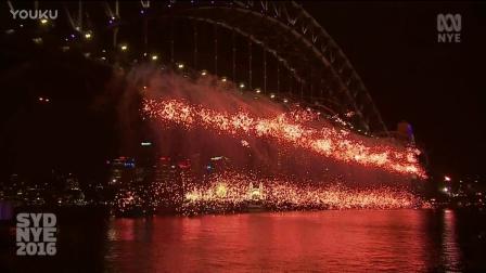 全球共赏——悉尼上演不一样的焰火表演