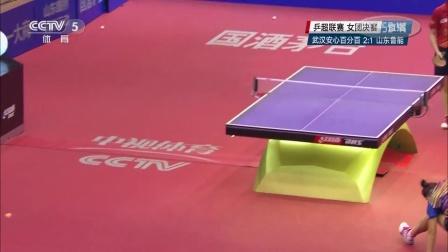 [五佳球]刘诗雯反拉高级球