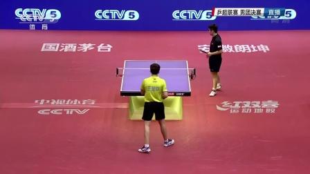 [2016乒超男团决赛]霸州王楚钦2:3八一樊振东