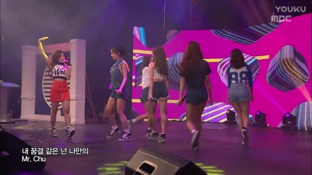 【Apink】 MBC Inauguration Music Festival Apink- Mr Chu, LUV160605