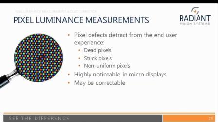 在线演讲(EN): 使用高分辨率成像色度系统检测显示器屏幕缺陷